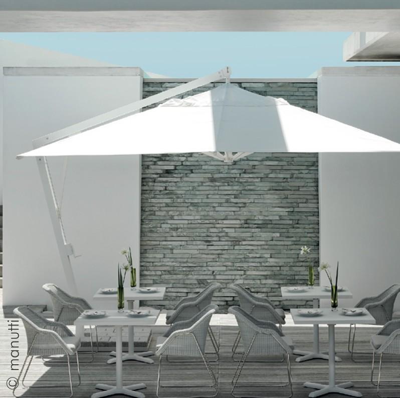 Parasols toile marine guadeloupe toiles et tissus for Store italien exterieur
