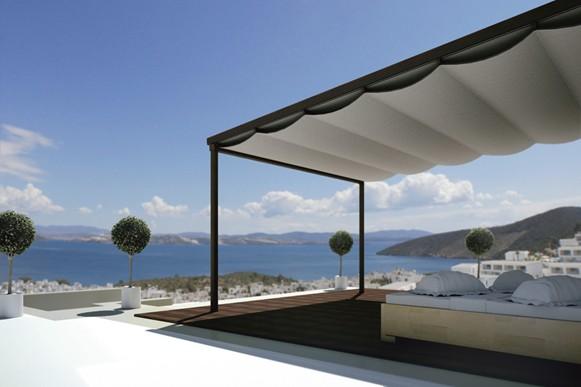 pergola velum toile marine guadeloupe toiles et tissus. Black Bedroom Furniture Sets. Home Design Ideas